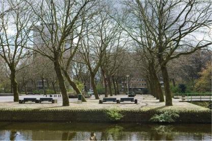 Buitenveldert, Ontmoetingseiland.