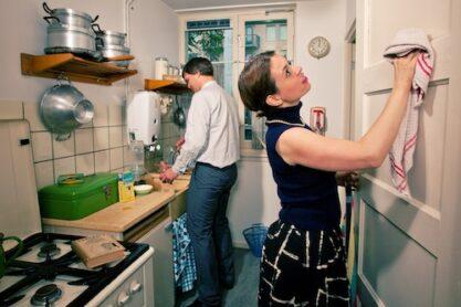 Keuken in de Van Eesteren Museumwoning. Foto © Thomas Heere.