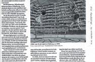 Artikel in NRC over de klimtoestellen van Aldo van Eyck en de tentoonstelling De Speelse Stad; 2012-11-29.