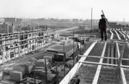 De Kolenkitbuurt in aanbouw; omstreeks 1950. Foto: Henk Blansjaar.