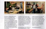 De Van Eesterenmuseum Museumwoning uitgelicht in de magazine van Stichting Doen; maart 2013.