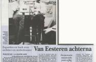 Artikel in de Telegraaf n.a.v. de tentoonstelling over de Jonge Van Eesteren; 15-10-2013.