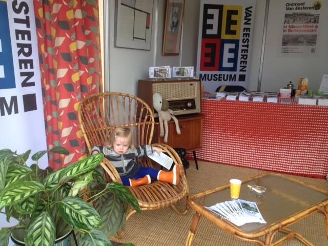 Van Eesteren Museum op de Uitmarkt in 2014. Foto: Anouk de Wit.