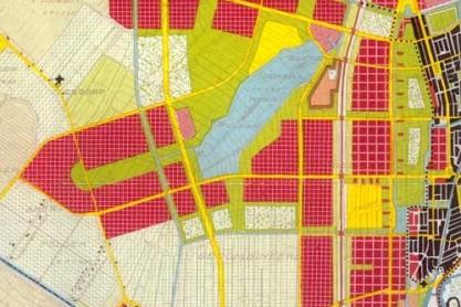De Westelijke Tuinsteden als onderdeel van het Algemeen Uitbreidingsplan van Amsterdam in 1935.