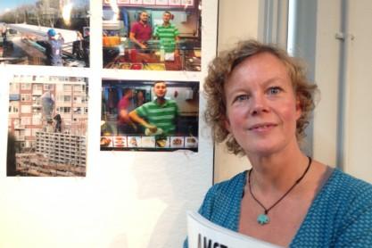 Fotowedstrijd 'Werk in West'. In de categorie 'Hedendaagse foto's' ging de eerste prijs naar Janna Koops met 'Broodje Berrak'; 22 augustus 2014.