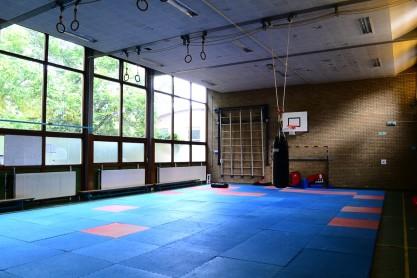 Gymzaal De Vlugt. Foto: Victorien Koningsberger.