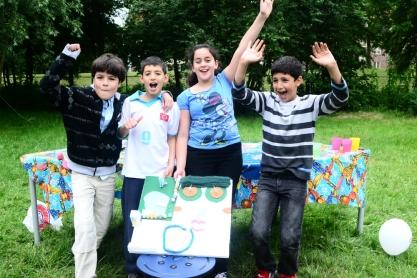 Winnaars Speelse Prijs Noordmansschool. Foto: Victorien Koningsberger.