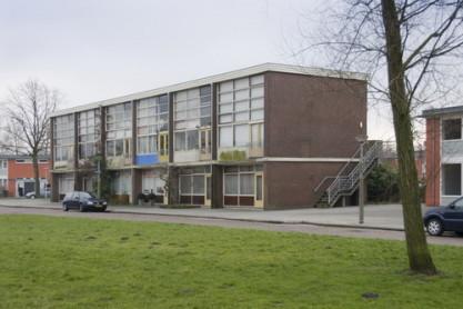 Atelierwoningen Van Karnebeekstraat in Geuzenveld. Foto: BMA.