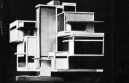 C. van Eesteren Th. van Doesburg, 1923 Model Maison d'artiste_