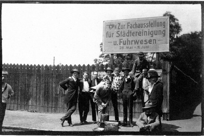 Congres van de Unie van Internationale Progressieve Kunstenaars in Düsseldorf; mei 1922.