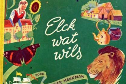Werk geïllustreerd door Joop Löbler; een Margriet Winter-Avondboek (1952)