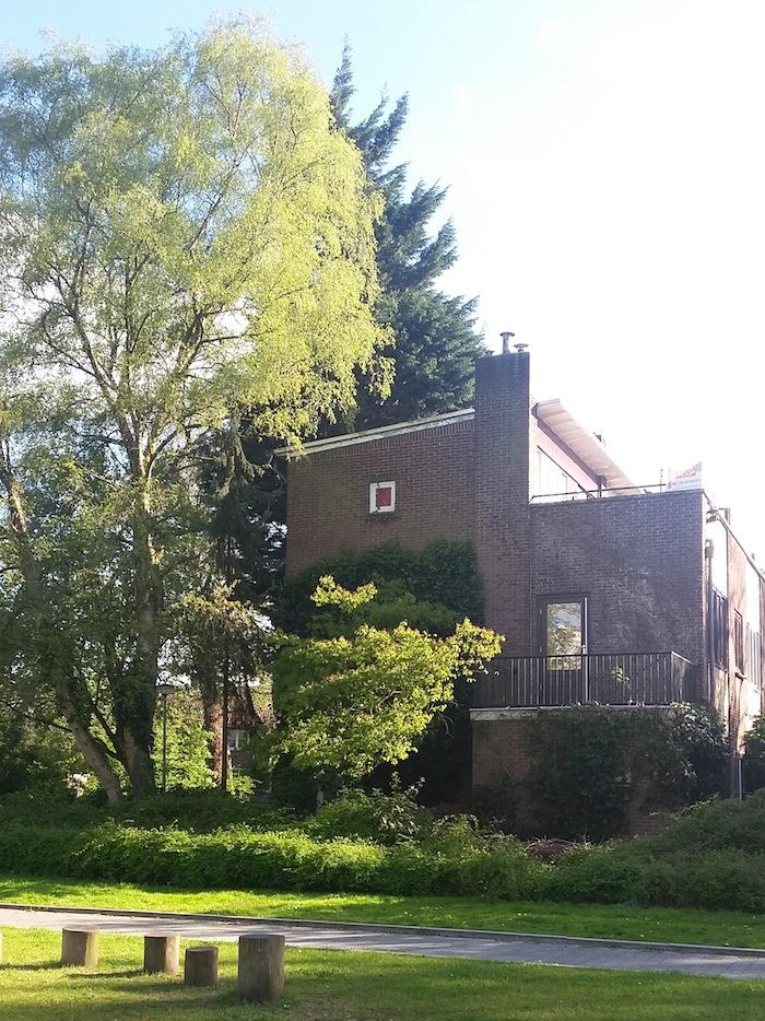 2/1-kap eengezinswoningen gelegen aan de Wiardi Beckmanstraat. Foto: Victorien Koningsberger.