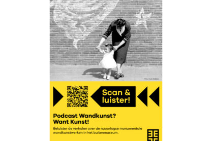 Scan & check Posters - Poster podcast Wandkunst? Want Kunst!