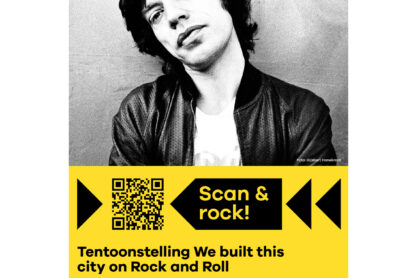 Scan & check Posters - Poster tentoonstelling We built this city on Rock and Roll