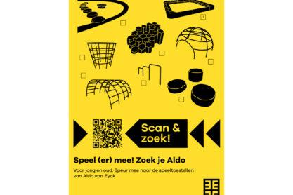 Scan & check Posters - Poster Zoek je Aldo