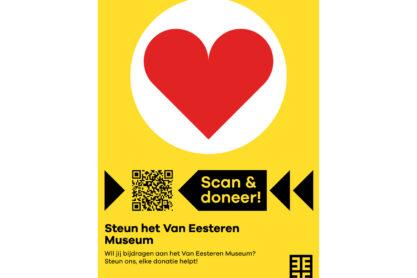 Scan & check Posters - Poster Steun het Van Eesteren Museum