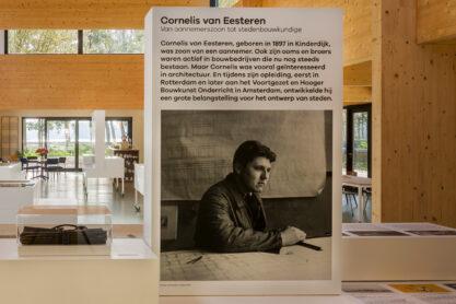 Vaste tentoonstelling in het Van Eesteren Paviljoen. Foto Luuk Kramer